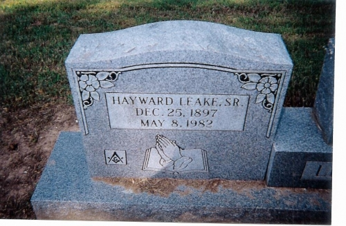 Hayward Leake Sr. (3rd Generation)