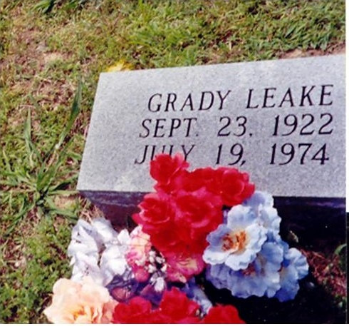 Grady (Bud) Leake (4th Generation)