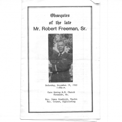 Robert Freeman Sr.