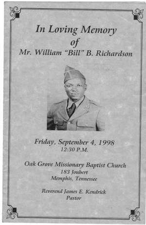 William (Bill) Brady Richardson Sr. (3rd Generation)